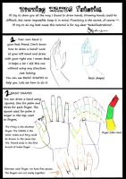 Hand Tutorial part 1 of 4 by Kanda-kun