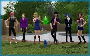 Fairy Tail Guild by NG Sims 3 by ng9