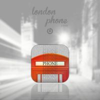 london phone. by GABR0