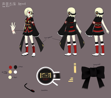 Koene Shiho APPEND Concept by NamieyXcarletLaytis