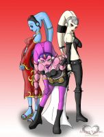Triple Trouble Twi' leks by LunaARTemis-S237