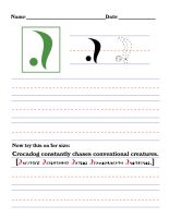 Precursor Worksheet - C by DrinkTeaOrDie