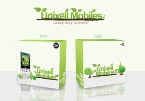 Unixel mobile packaging by Uhcrone