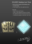 SOLDIER Icon Pack 1.01 by gas01ine