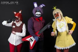 Cosplay: The Animatronics by BleedingHeartworks