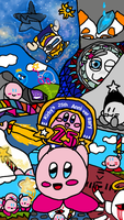 Retrospective (Early Kirby's 25th b-day) by xMeGaLoVaNiAx