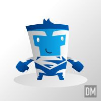 Superman Blue by DanielMead