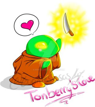 Tonberry's love by Kimmi-m