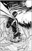 Spawn - ink by Giuseppe-Cafaro