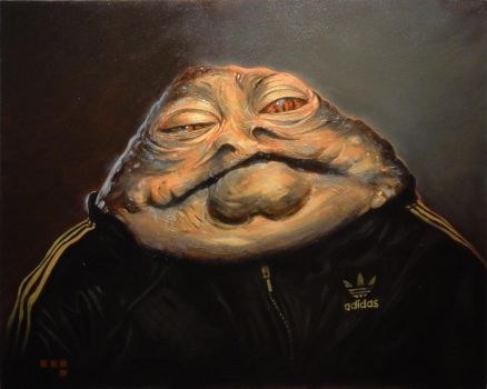 Jabba in Adidas by iconicafineart