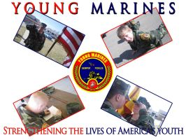 Young Marines Poster by gork105