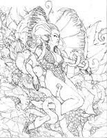 Poison Ivy Pencils by Mattasama