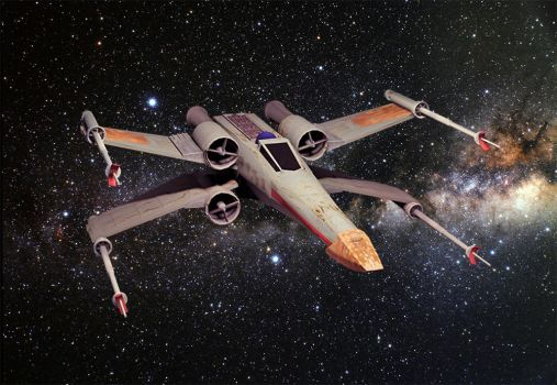 3D X-Wing Model by G-creator
