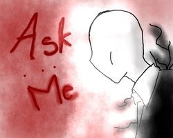 Ask me -Slenderman- by alex-la-eriza