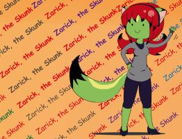 Zarick. the Skunk by The-Butcher-X