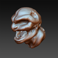 Cottonmouth Quick Sculpt by dannyhuynh99