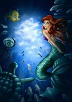 Swim to the Surface by AnnaLau13