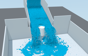 10.000.000 Fluid Particles Simulation by Mitsuma