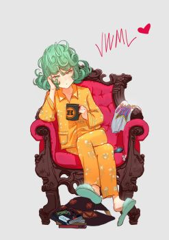Tatsumaki / One Punch Man (Personal Tshirt Design) by SteamyTomato