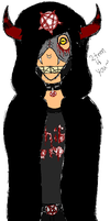 Hatched Death Satanist (Rebel Satanist) by Dysfunctional-H0rr0r