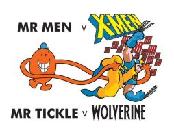 Mr Men V X-Men by mattcantdraw