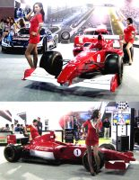 Formula One at the Motor Show by toyonda