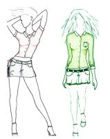 skirt sketches by dreams-so-bleak
