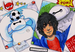SELFIE WITH BAYMAX by nospectral