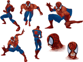 Brawl : MvC3 Marvel Zombies Spider-Man by DMN666