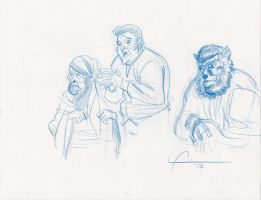 wolfman sketches by frankenart