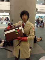 Medic cosplay at Anime Expo 2013 by stormx6