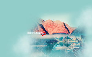 Norway wallpaper by KlarisaG