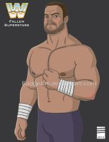 WWE Fallen Superstars: Chris Benoit by EadgeArt