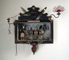 Assemblage: The Queen by bugatha1