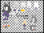 Gloom the Cat by TutanTurkeyTail