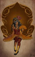 Old West Meets Art Nouveau by jessijordan