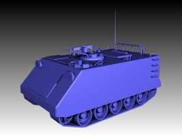 M113A1 APC: 1 by Sir-Phoenixx