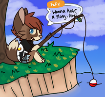 Gone Fishing by She-Foxy
