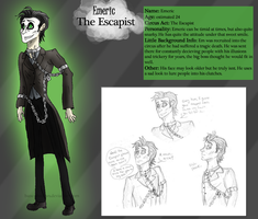 Emeric the Escapist OC by Bane-Shadows