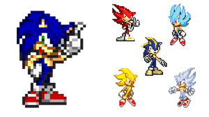 Sonic's Transformation by HeiseiGoji91