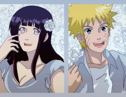 naruhina: paper flowers by Nishi06