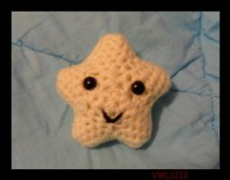 amigurumi star by VML1212