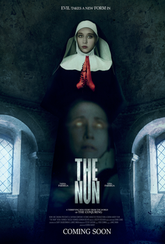 THE NUN (2018) Movie Poster Edit by Domnics