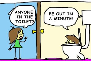toilet humour by dalmation10k