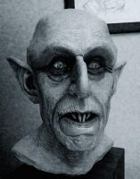 Hill Nosferatu bust 1:1 by Syborwolf