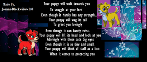 Puppy Messages Canis, by blackwidow140