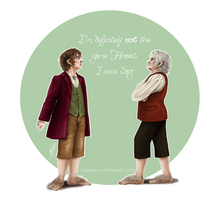 Not the same Hobbit I once was! by RedPassion