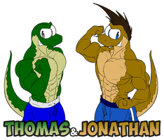 Thomas And Jonathan By Mctaylis by Maxime-Jeanne