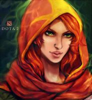 Dota2 - Windrunner by Cizu