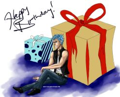 Happy Birthday Grimmjow! by Bluu-san